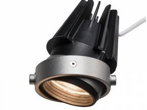 AIXLIGHT® PRO 50 LED module 3000K grey/black 50°