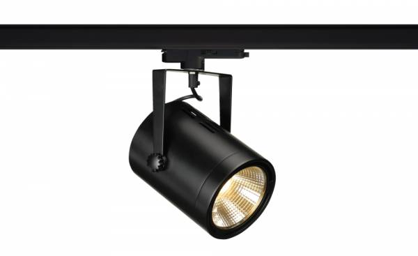 EURO SPOT TRACK DALI, LED, 3000K, black, 38°