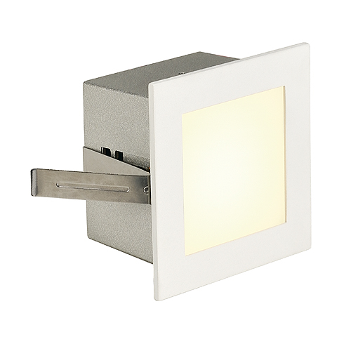 FRAME BASIC LED, 1W, 4000K, 110lm, angular, alu/glass, white