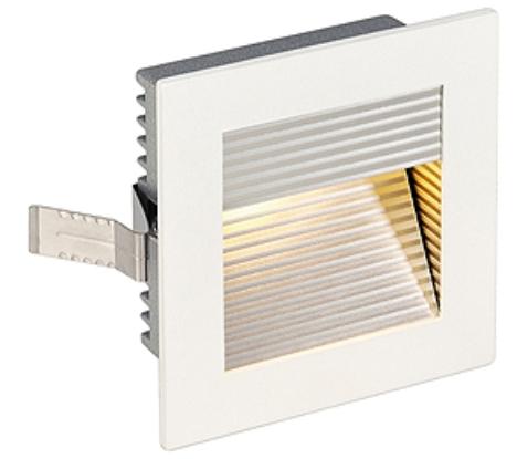 FRAME CURVE LED, 1W, 4000K, 110lm, angular, alu, white