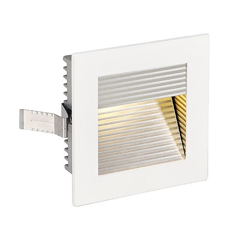 FRAME CURVE LED, 1W, 3000K, 90lm, angular, alu, white