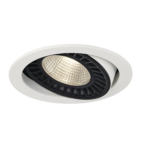 SUPROS DL round, white, 3000lm, 3000K SLM LED, 60°