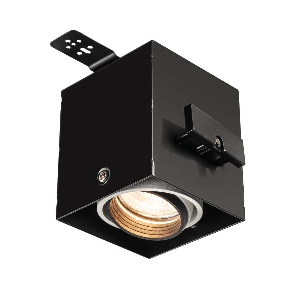 AIXLIGHT PRO 50 I FRAMELESS housing + fitting-kit, black