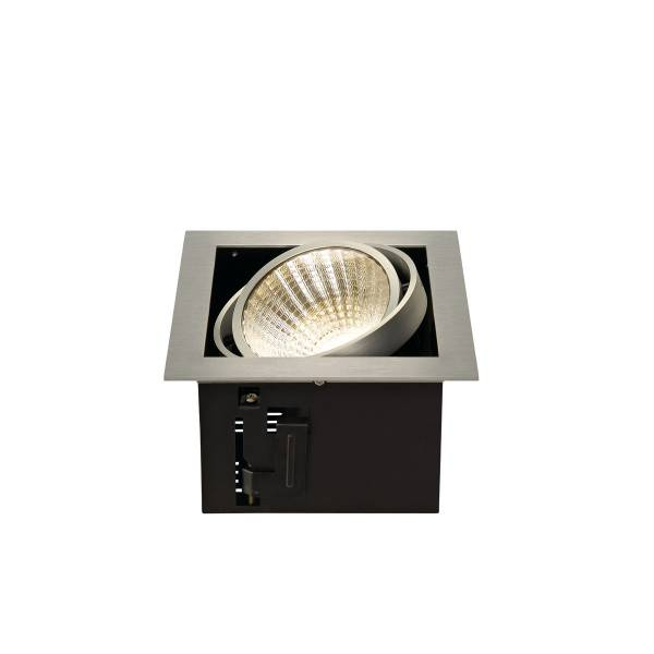 KADUX LED  Single DL Set, 3000K, 30°, alu brushed