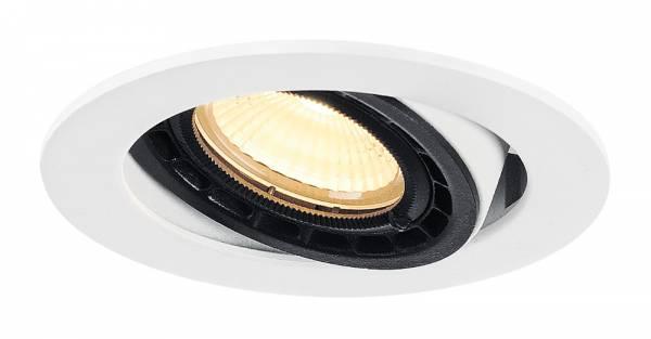 SUPROS 78 DL recessed ceiling light round,white,3000K