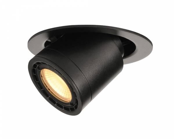 SUPROS 78 MOVE recessed ceiling light,round,3000K,60° lens