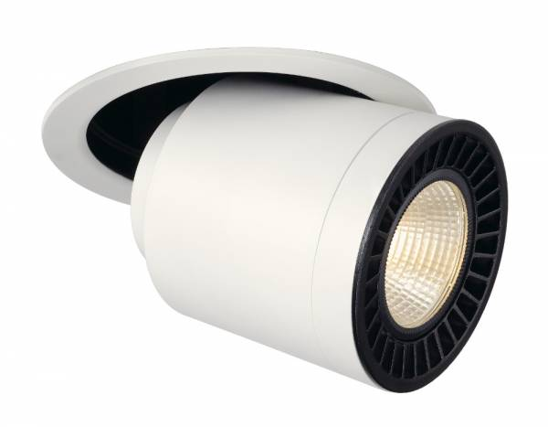 SUPROS MOVE recessed ceiling light,round,white,4000lm,3000K