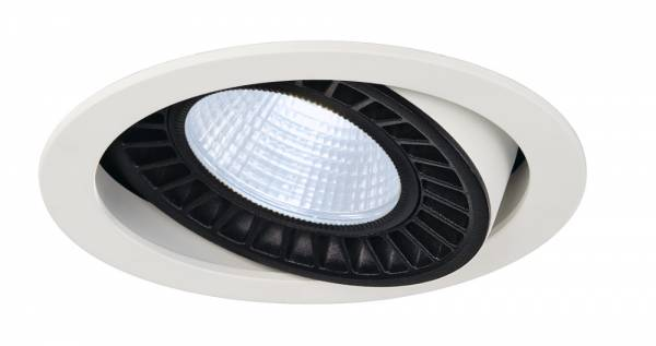 SUPROS DL recessed ceiling light,round,white,4000lm,4000K