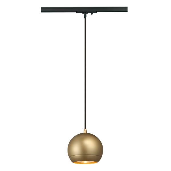 LIGHT EYE pendulum luminaire ES111 GU10, max. 75W, brass