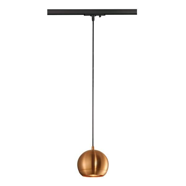LIGHT EYE pendulum luminaire ES111 GU10, max. 75W, copper