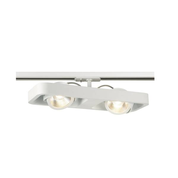 LYNAH LED Double Spot, 2x10W, incl.1P.Adapter, white
