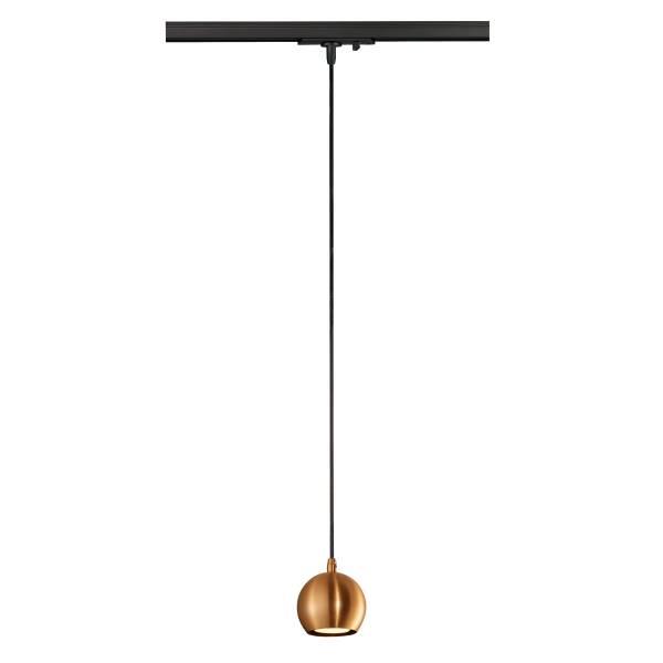 LIGHT EYE pendulum luminaire GU10, max. 50W, copper colour
