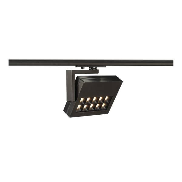 PROFUNO LED, 3000K, 30°, incl. 1P.-Adapter, black