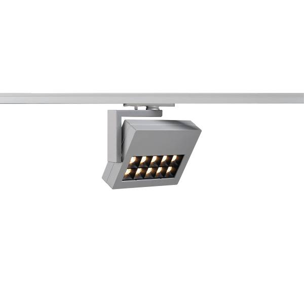 PROFUNO LED, 3000K, 30°, incl. 1P.-Adapter, silver