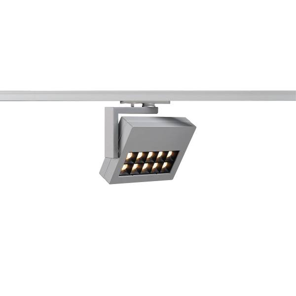 PROFUNO LED, 3000K, 60°, incl. 1P.-Adapter, silver