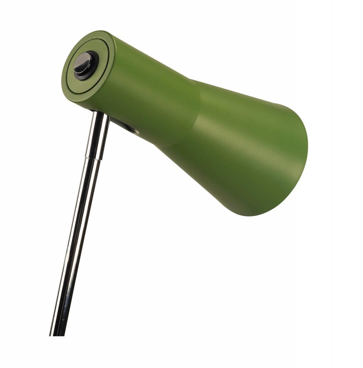 PHELIA table lamp, fern-green, aluminium/steel, GU10