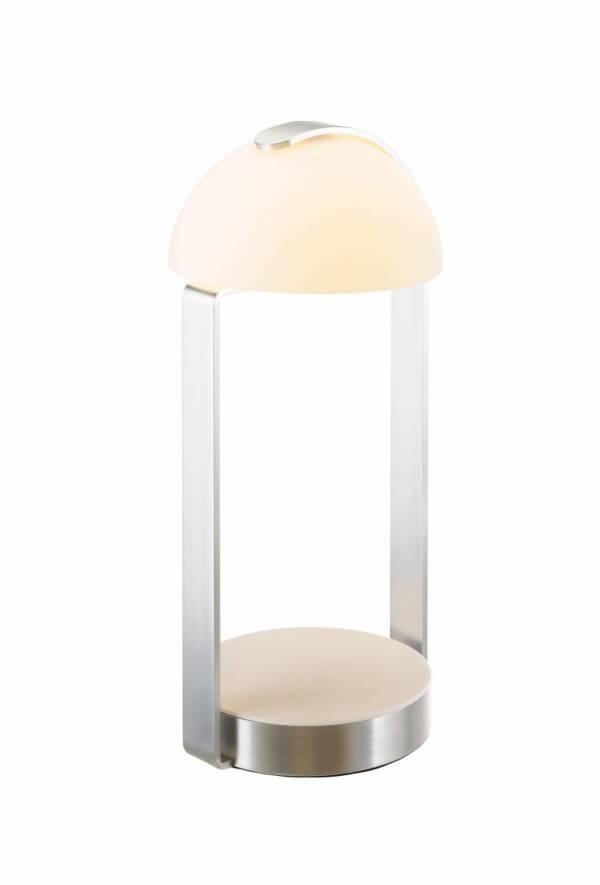 BRENDA, table lamp, LED, white/ silver