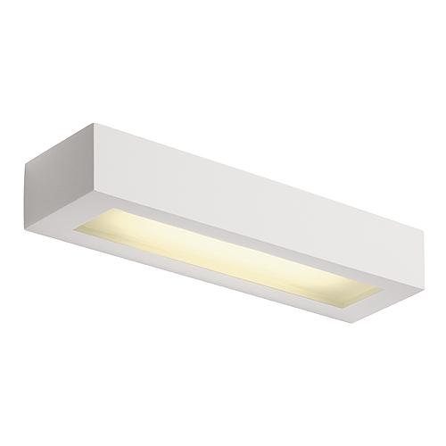 GL 103 T5 wall lamp, 8W, angular, white plaster