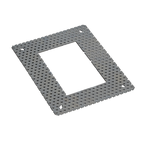 Mounting frame for DOWNUNDER PUR 80x120, angular