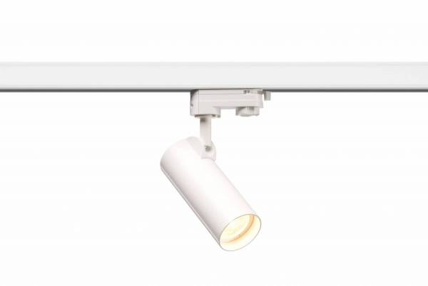 HELIA 50 LED Spot, 3000K, white, 35°, incl. 3 Phase adapter