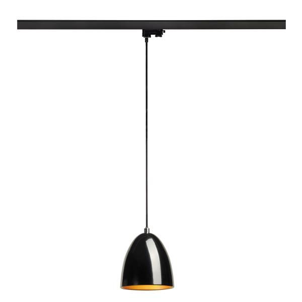 PARA CONE 14 pendulum luminaire, GU10, round, black/gold