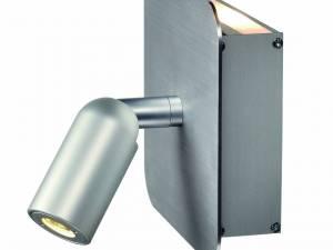 NAPIA Wall light, brushed aluminium