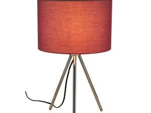 FENDA Table lamp, E27, without screen, chrome