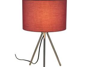 FENDA Table lamp, E27, without screen, chrome