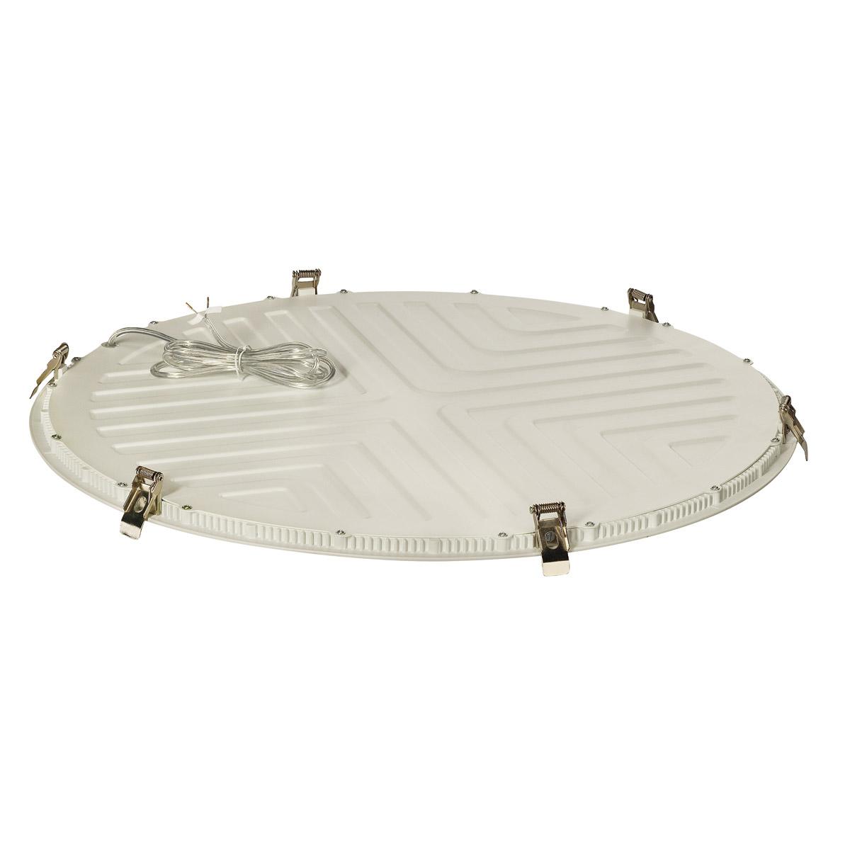 LED PANEL ROUND 60, 3000K, round, matt white