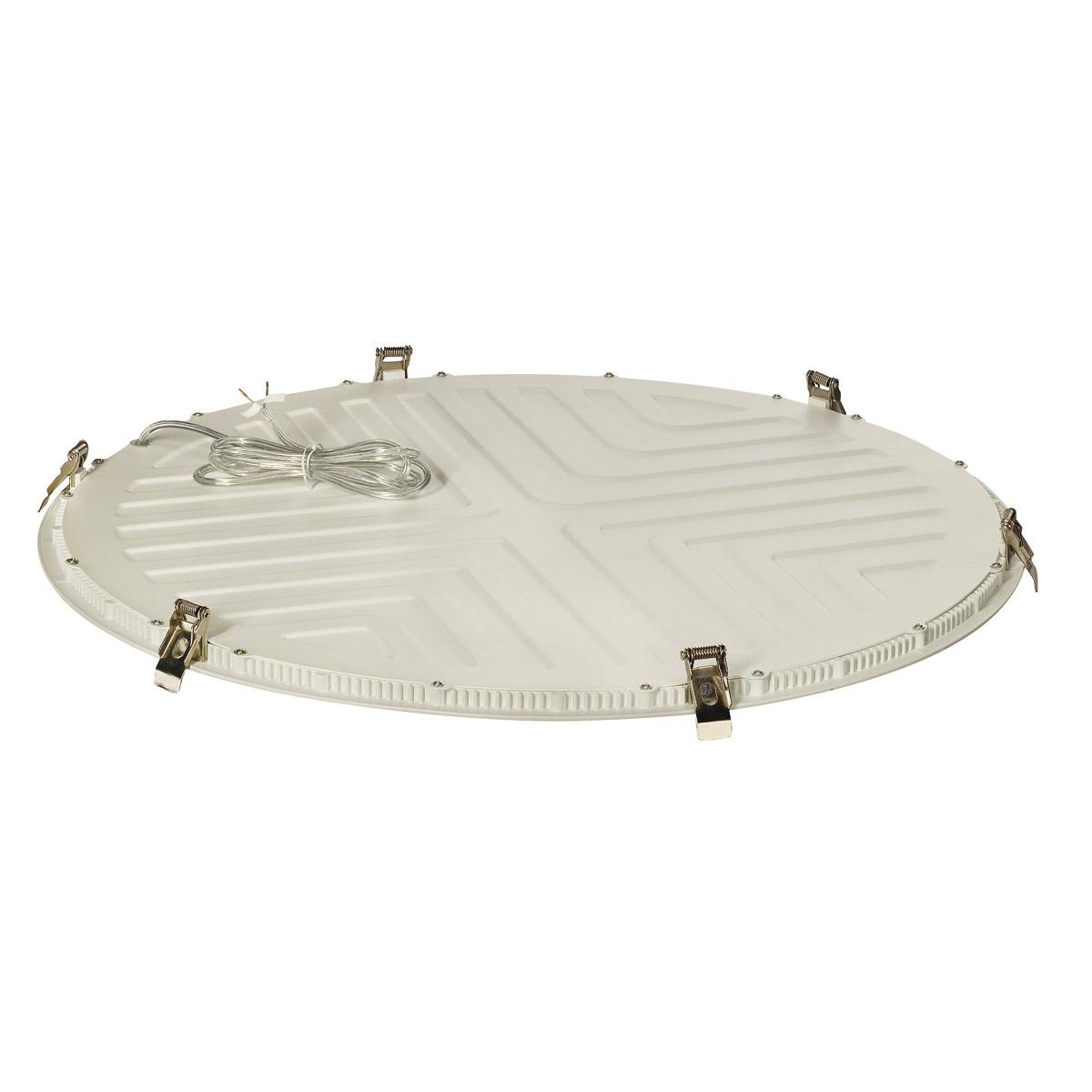 LED PANEL ROUND 60, 4000K, round, matt white