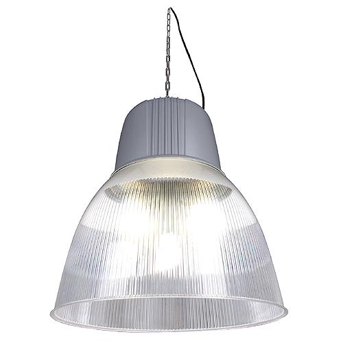 PARA DOME 2 HIE pendulum luminaire, E40, 250W, silvergrey