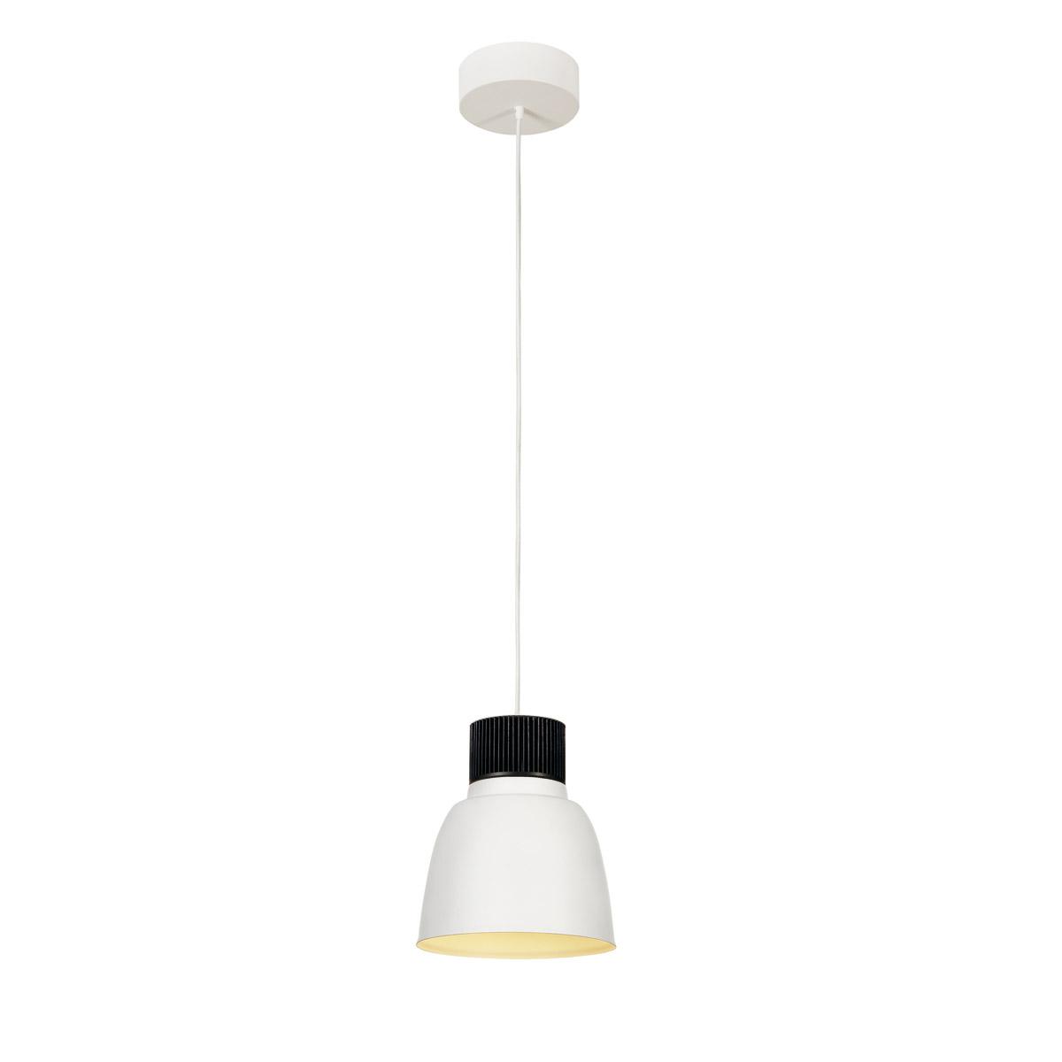 PENTULI LED pendulum luminaire 24, small, white