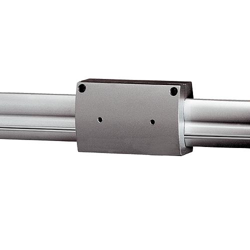 Longitudinal coupler for EASYTEC II, silvergrey