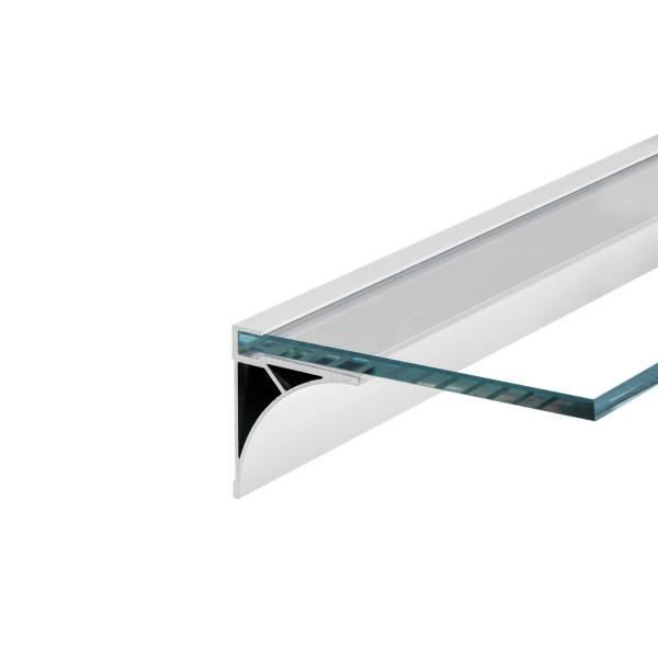 GLENOS Regal Profile 100, 1m, matt white