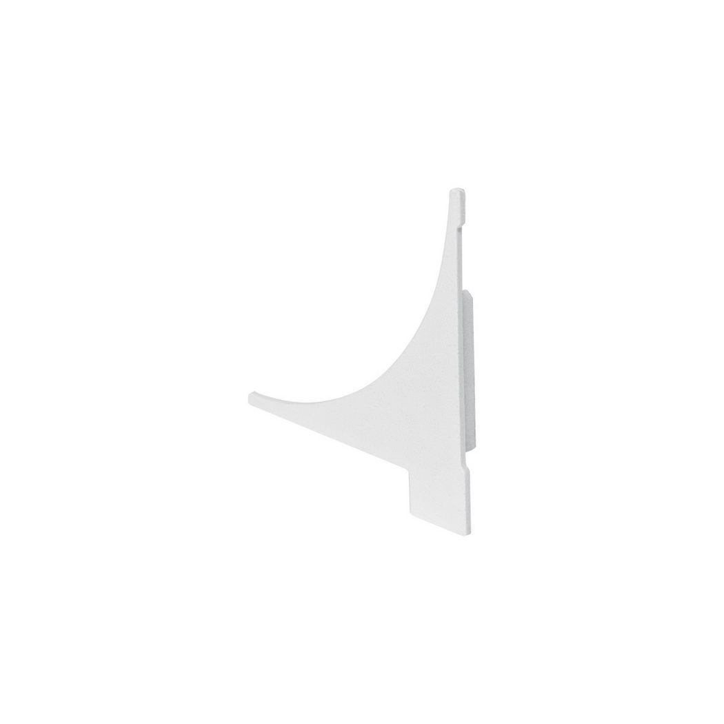 GLENOS Endcap for Regal profile, 2 Stk, white