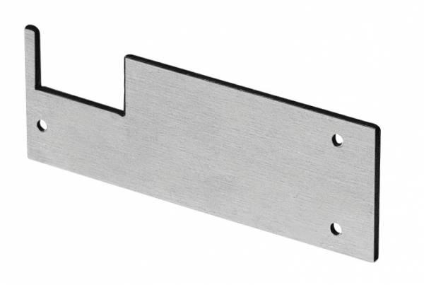 GLENOS end cap for wall bracket profile,matt black,2 pcs.