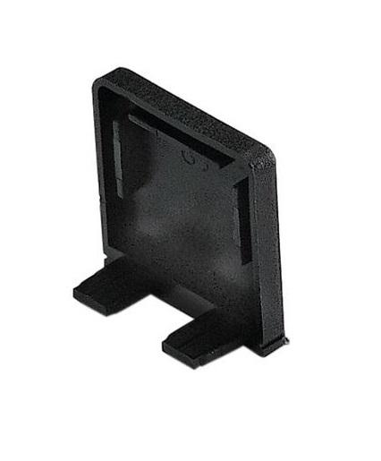 GLENOS Endcap for Profile 2609, BRICK, black