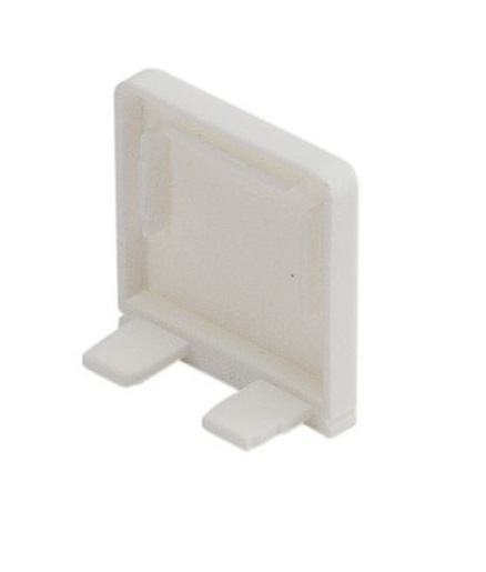 GLENOS Endcap for Profile 2609, BRICK, white