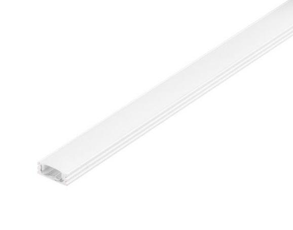 GLENOS Linear profile 1808-100, 1m, matt white