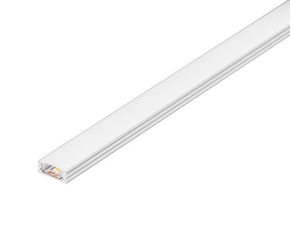 GLENOS Linear profile 1808-100, 1m, alu anodized