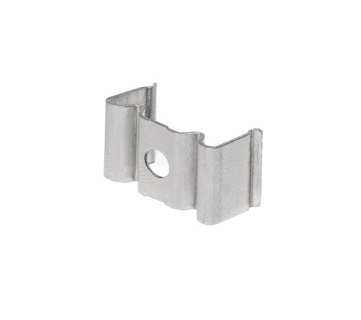 GLENOS mounting clips for Profile 1808, stainless steel