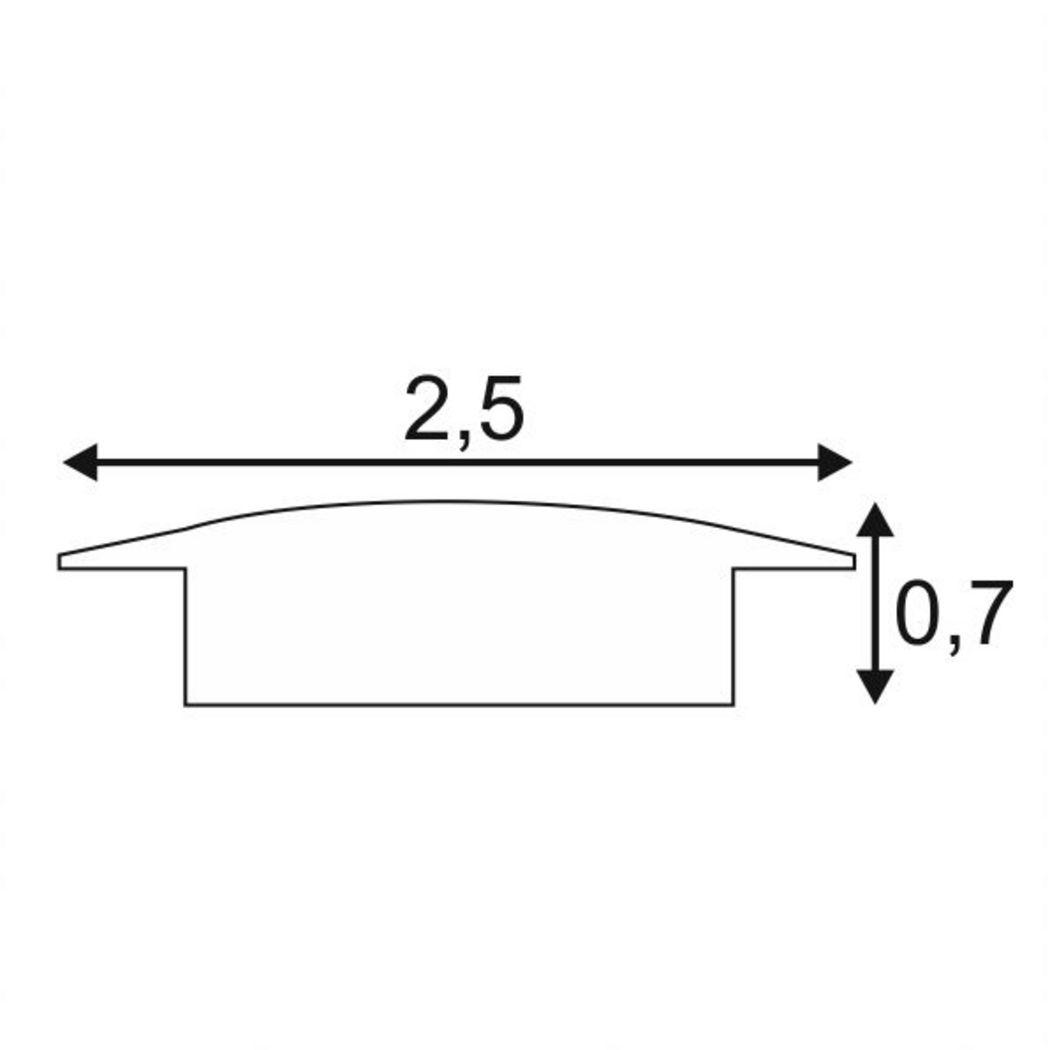 GLENOS PROFILE 2508, 2m, alu anodized