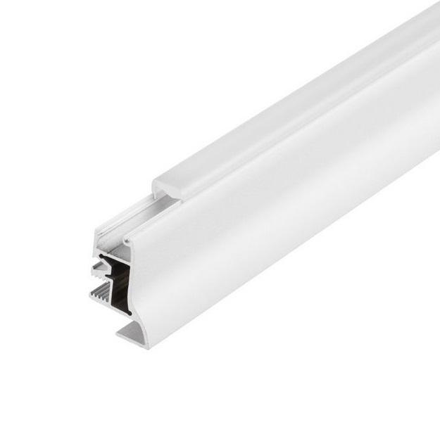 GLENOS Fußleiste 100, 1m, matt white