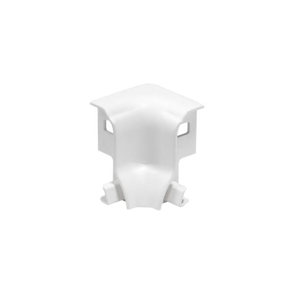 GLENOS corner connector INSIDE, 90°, for Alu Profile, white