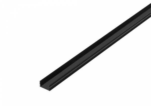 GLENOS linear profile, 2713-200, 2m, matt black