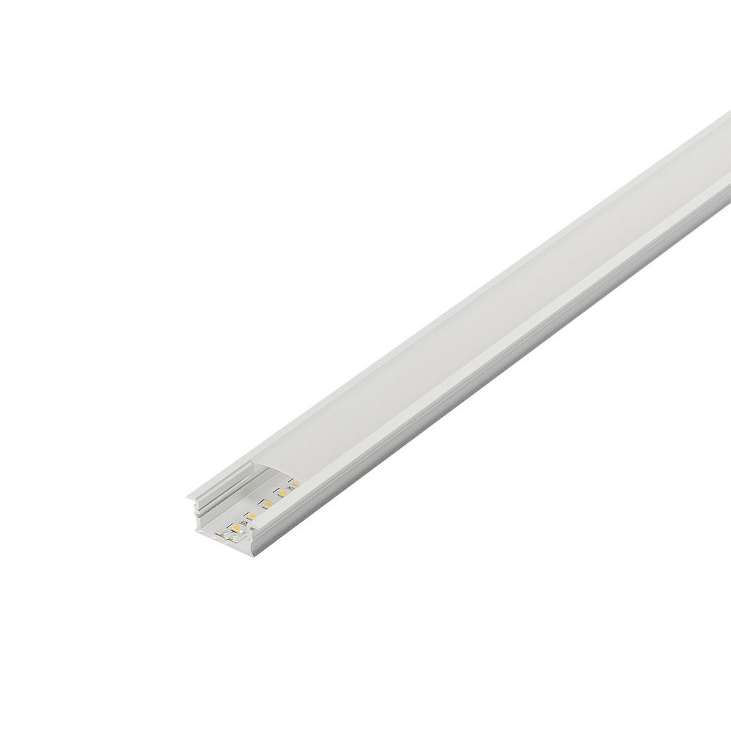 GLENOS cover 100 for linear profile 2713, 1m, frosted