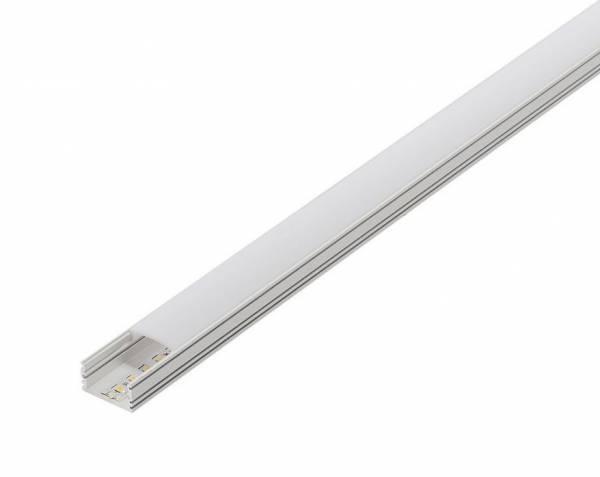 GLENOS cover 100 for linear profile 2713, 1m, white