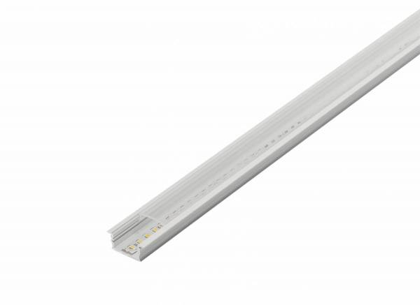 GLENOS recessed linear profile 3314-200,2m,anodised alu.