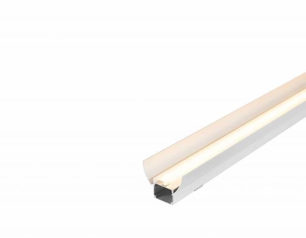 GLENOS industrial profile reflector set, silver, 2 pcs.