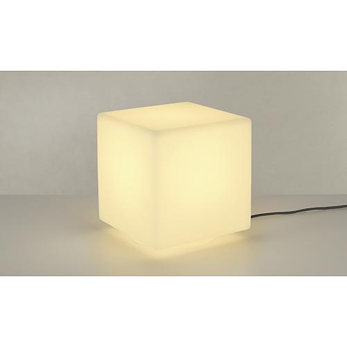 DETT outdoor lamp, E27 ESL max. 24W, IP54, white